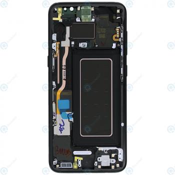 Samsung Galaxy S8 (SM-G950F) Display unit complete black GH97-20457A_image-6
