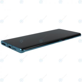 Huawei P30 Pro (VOG-L09 VOG-L29) Display module frontcover+lcd+digitizer+battery aurora blue 02352PGE_image-1