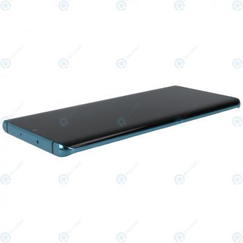 Huawei P30 Pro (VOG-L09 VOG-L29) Display module frontcover+lcd+digitizer+battery aurora blue 02352PGE_image-2