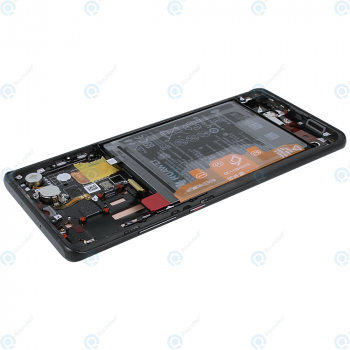 Huawei P30 Pro (VOG-L09 VOG-L29) Display module frontcover+lcd+digitizer+battery black 02352PBT_image-4