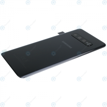 Samsung Galaxy S10 (SM-G973F) Battery cover prism black GH82-18378A_image-2