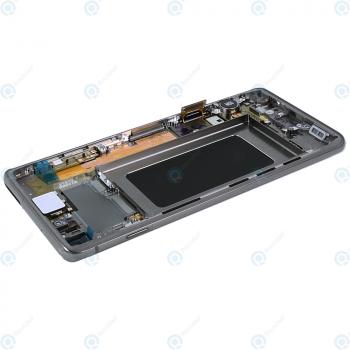 Samsung Galaxy S10 (SM-G973F) Display unit complete prism black GH82-18850A_image-4