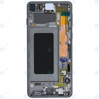 Samsung Galaxy S10 (SM-G973F) Display unit complete prism black GH82-18850A_image-6