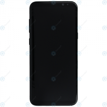 Samsung Galaxy S8 Plus (SM-G955F) Display unit complete black GH97-20564A GH97-20470A_image-1