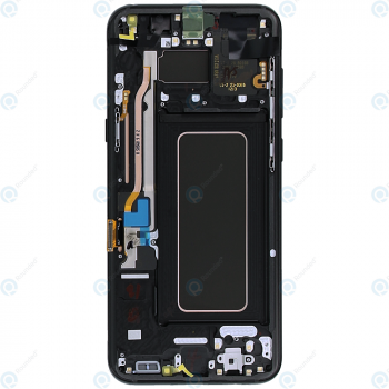 Samsung Galaxy S8 Plus (SM-G955F) Display unit complete black GH97-20564A GH97-20470A_image-2