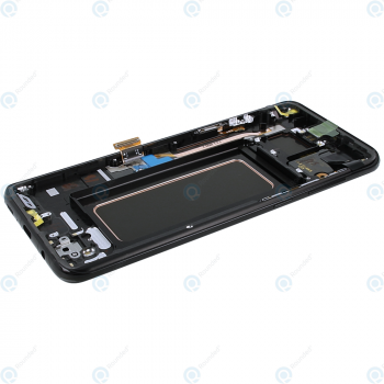 Samsung Galaxy S8 Plus (SM-G955F) Display unit complete black GH97-20564A GH97-20470A_image-5
