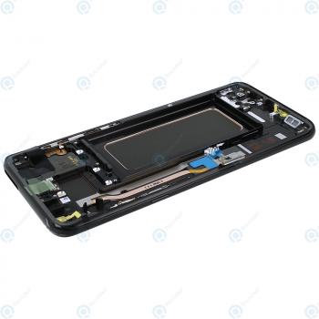 Samsung Galaxy S8 Plus (SM-G955F) Display unit complete black GH97-20564A GH97-20470A_image-6