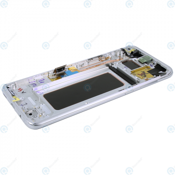 Samsung Galaxy S8 Plus (SM-G955F) Display unit complete silver GH97-20470B_image-5