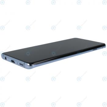 Samsung Galaxy S10 (SM-G973F) Display unit complete prism blue GH82-18850C_image-1