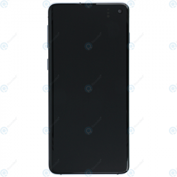 Samsung Galaxy S10 (SM-G973F) Display unit complete prism blue GH82-18850C_image-5