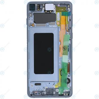 Samsung Galaxy S10 (SM-G973F) Display unit complete prism blue GH82-18850C_image-6
