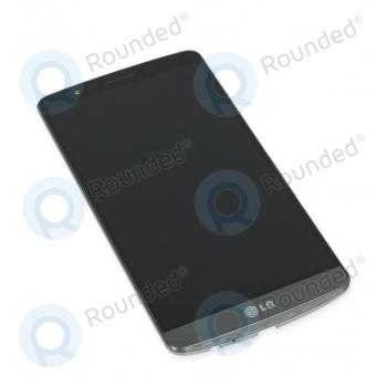 LG G3 (D855) Display module frontcover+lcd+digitizer black ACQ87190302