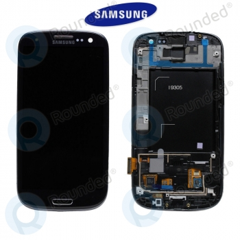 Samsung Galaxy S3 4G/LTE (I9305) Display unit complete black (GH97-14106B)