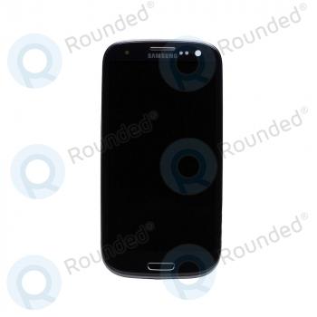 Samsung Galaxy S3 4G/LTE (I9305) Display unit complete black (GH97-14106B) image-1
