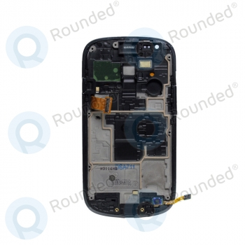 Samsung Galaxy S3 Mini (I8190) Display unit complete black (GH97-14204C) image-2