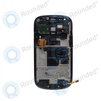 Samsung Galaxy S3 Mini (I8190) Display unit complete blue (GH97-14204B) image-2