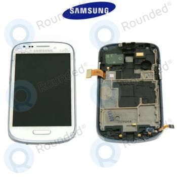 Samsung Galaxy S3 Mini (I8190) Display unit complete La Fleur (GH97-14457A)