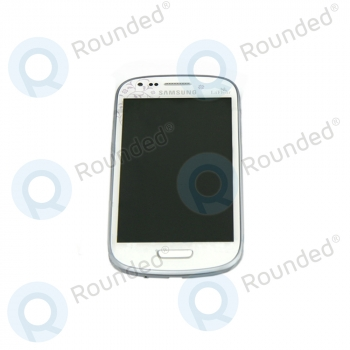 Samsung Galaxy S3 Mini (I8190) Display unit complete La Fleur (GH97-14457A) image-1