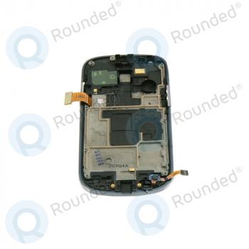 Samsung Galaxy S3 Mini (I8190) Display unit complete La Fleur (GH97-14457A) image-2