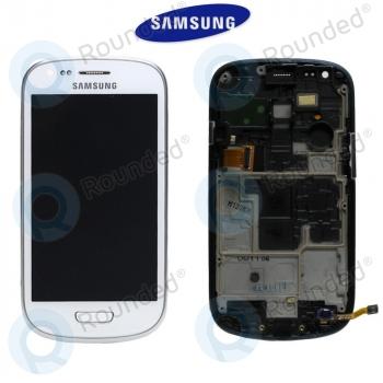 Samsung Galaxy S3 Mini (I8190) Display unit complete white (GH97-14204A)