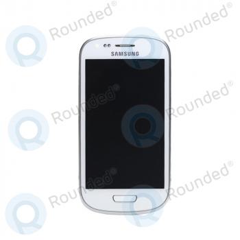 Samsung Galaxy S3 Mini (I8190) Display unit complete white (GH97-14204A) image-1