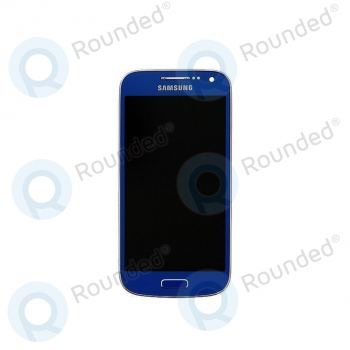Samsung Galaxy S4 Mini (I9195) Display unit complete blue (GH97-14766C) image-1