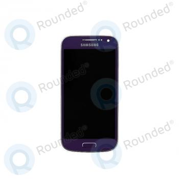 Samsung Galaxy S4 Mini (I9195) Display unit complete purple (GH97-14766E) image-1