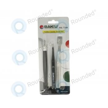 BAKU BK-7280 Solder Assist Tools Set 3 pieces