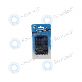 Silverline Security Bit Set 33pieces 25mm Screwdriver