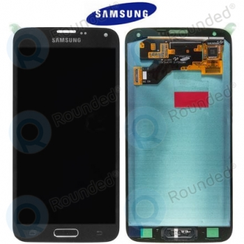 Samsung Galaxy S5 Neo (SM-G903F) Display unit complete blackGH97-17787A