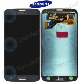 Samsung Galaxy S5 Neo (SM-G903F) Display unit complete silverGH97-17787C