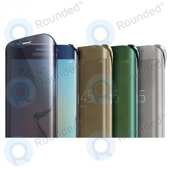 the latest de543 e5700 Samsung Galaxy S6 Edge Clear View cover silver EF-ZG925BSEGWW