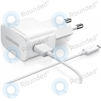 Samsung USB travel charger 2000 mAh incl. Data cable white (Bulk) ETA-U90EWE ETA-U90EWE