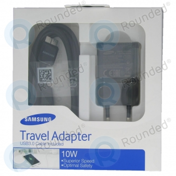 Samsung USB  Travel charger 2000mAh incl. USB 3.0 21 pin Data cable black (EU blister) EP-TA12EBEQGWW + ET-DQ11Y1BE EP-TA12EBEQGWW + ET-DQ11Y1BE image-7