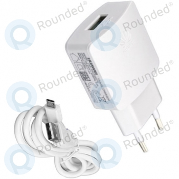 Huawei USB Travel charger incl. Micro USB Data cable white HW-050200E3W HW-050200E3W image-1