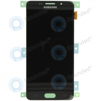 Samsung Galaxy A5 2016 (SM-A510F) Display unit complete blackGH97-18250B