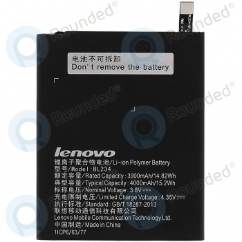 Lenovo A5000 Battery BL234 4000mAh