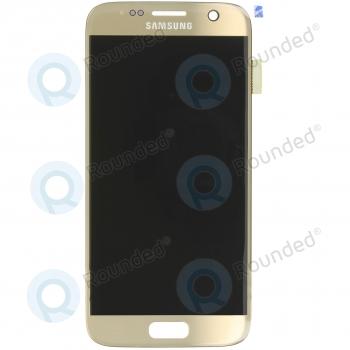 Samsung Galaxy S7 (SM-G930F) Display unit complete goldGH97-18523C