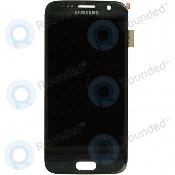 Samsung Galaxy S7 (SM-G930F) Display unit complete blackGH97-18523A