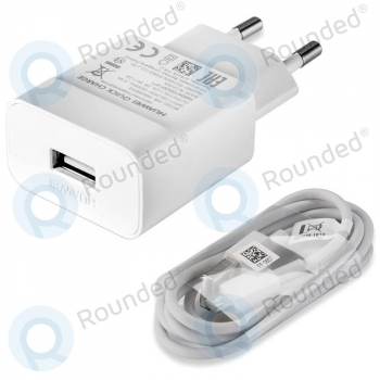 Huawei Travel charger 2000mAh incl. microUSB type-C data cable white HW-059200EHQ HW-059200EHQ