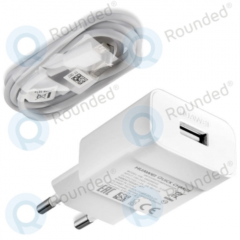 Huawei Travel charger 2000mAh incl. microUSB type-C data cable white HW-059200EHQ HW-059200EHQ image-1