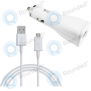 Samsung Adaptive fast car charger 1670mAh incl. MicroUSB data cable white EP-LN915UW EP-LN915UW image-1
