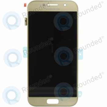 Samsung Galaxy A5 2017 (SM-A520F) Display unit complete gold GH97-19733B GH97-19733B