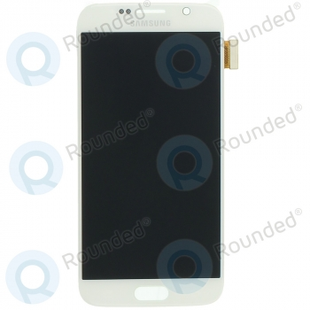Samsung Galaxy S6 (SM-G920F) Display unit complete white GH97-17260B GH97-17260B