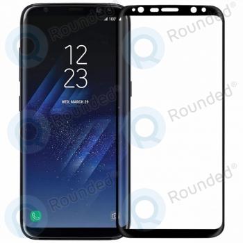 Samsung Galaxy S8 Plus Tempered glass 3D black  image-1