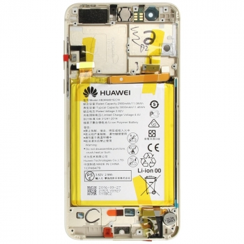 Huawei Honor 8 Display module frontcover+lcd+digitizer + battery gold 02350USE 02350USE image-1
