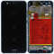 Huawei P10 Lite (WAS-L21) Display module frontcover+lcd+digitizer+battery blue 02351FSL
