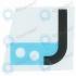 Samsung Galaxy S8 (SM-G950F) Adhesive sticker PCB battery GH02-14466A