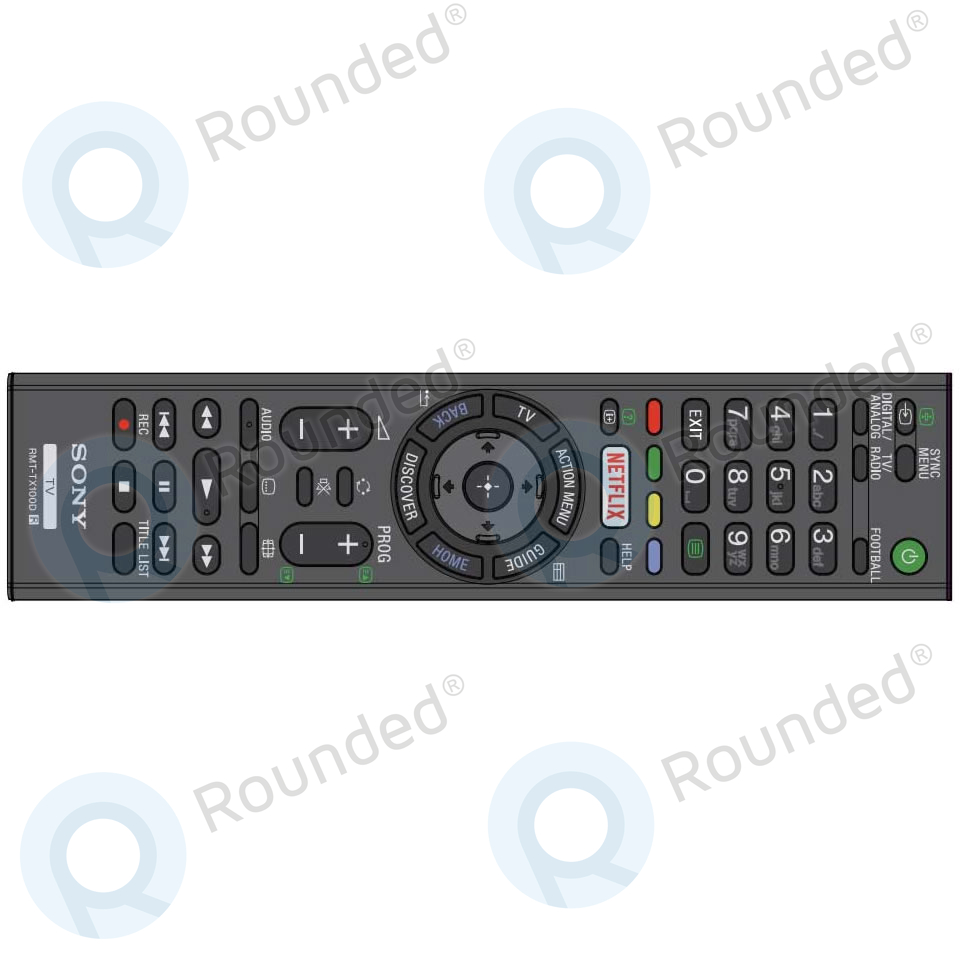 Sony  Remote control RMT-TX100D (149296311) 149296311 image-1