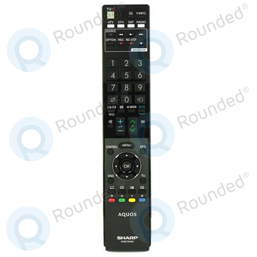 Sharp  Remote control GA857WJSA (RRMCGA857WJSA) RRMCGA857WJSA